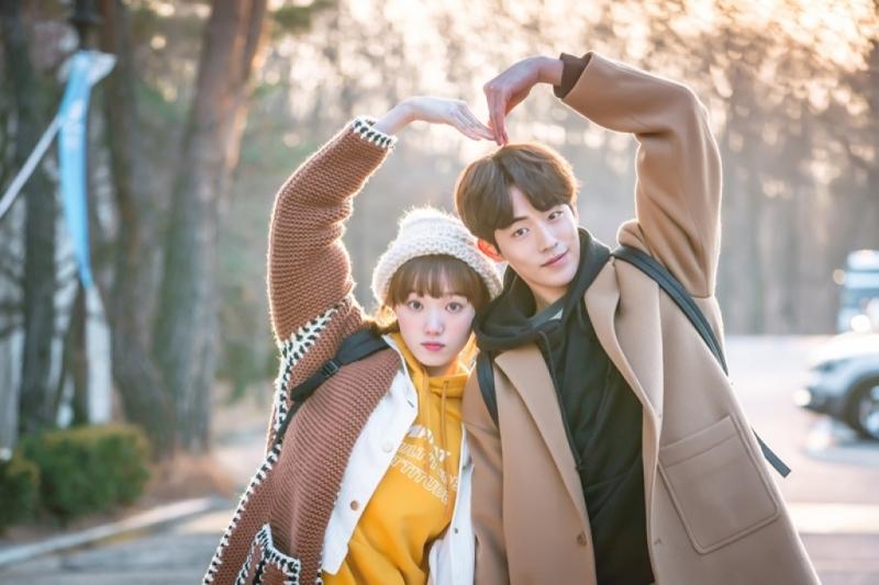 Lee Sung Kyung và Nam Joo Hyuk là cặp gà bông