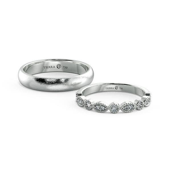Cặp nhẫn cưới Eternity NCC0009