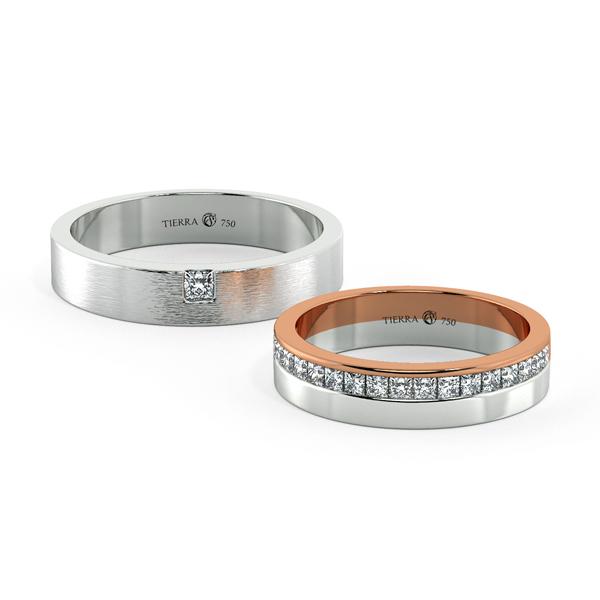 Cặp nhẫn cưới hiện đại NCC2007