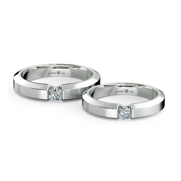 Cặp nhẫn cưới kim cương NCC3001
