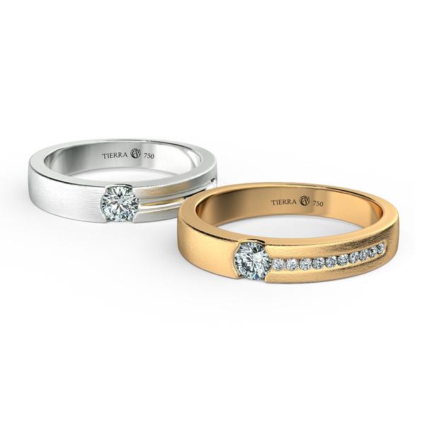 Cặp nhẫn cưới kim cương NCC3003