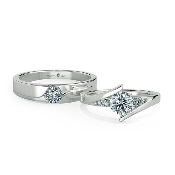 Cặp nhẫn cưới kim cương NCC3006