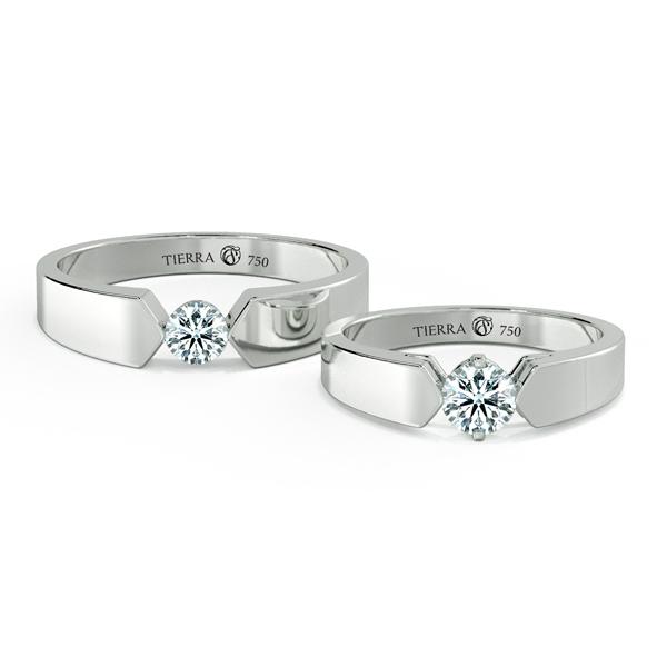 Cặp nhẫn cưới kim cương NCC3007