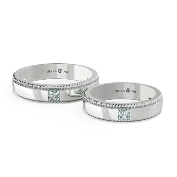 Cặp nhẫn cưới kim cương NCC3008