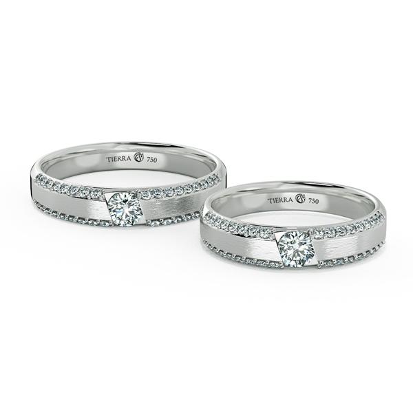 Cặp nhẫn cưới kim cương NCC3011
