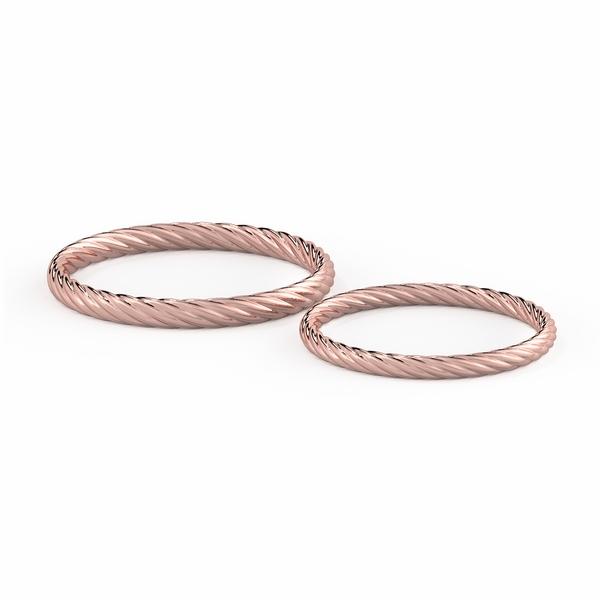 Cặp nhẫn cưới truyền thống NCC1004