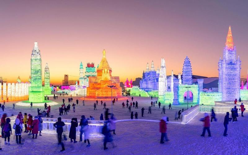Lễ hội Băng và Tuyết tại Cáp Nhĩ Tân - Trung Quốc