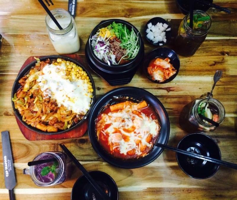 Cạp - Seafood là địa chỉ tuyệt vời để thưởng thức hương vị Hàn Quốc tại khu vực quận Đống Đa