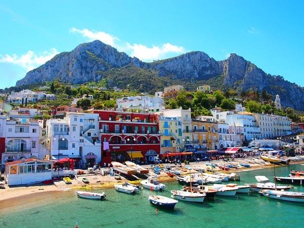 Đảo Capri xinh đẹp