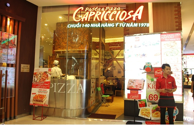Capricciosa - tinh tế ẩm thực nước Ý qua bàn tay người Nhật