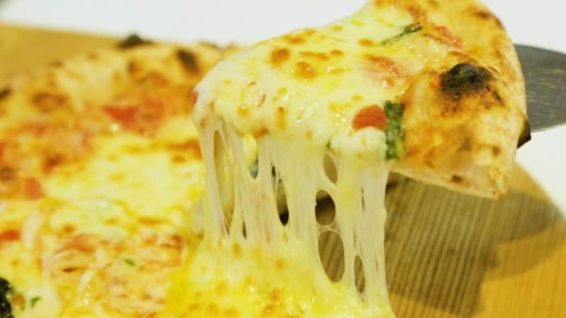 Pizza thơm ngon.