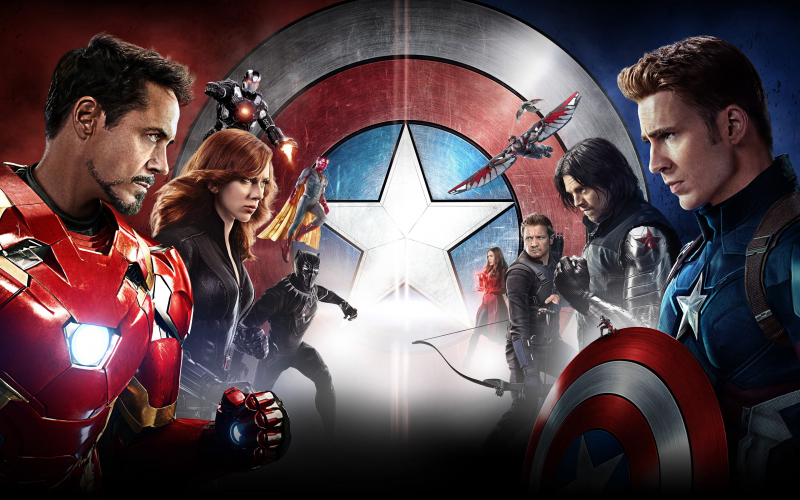 Team Iron Man vs Team Cap - bạn chọn phe nào?