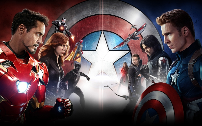 Captain America: Civil War (T4/2016)