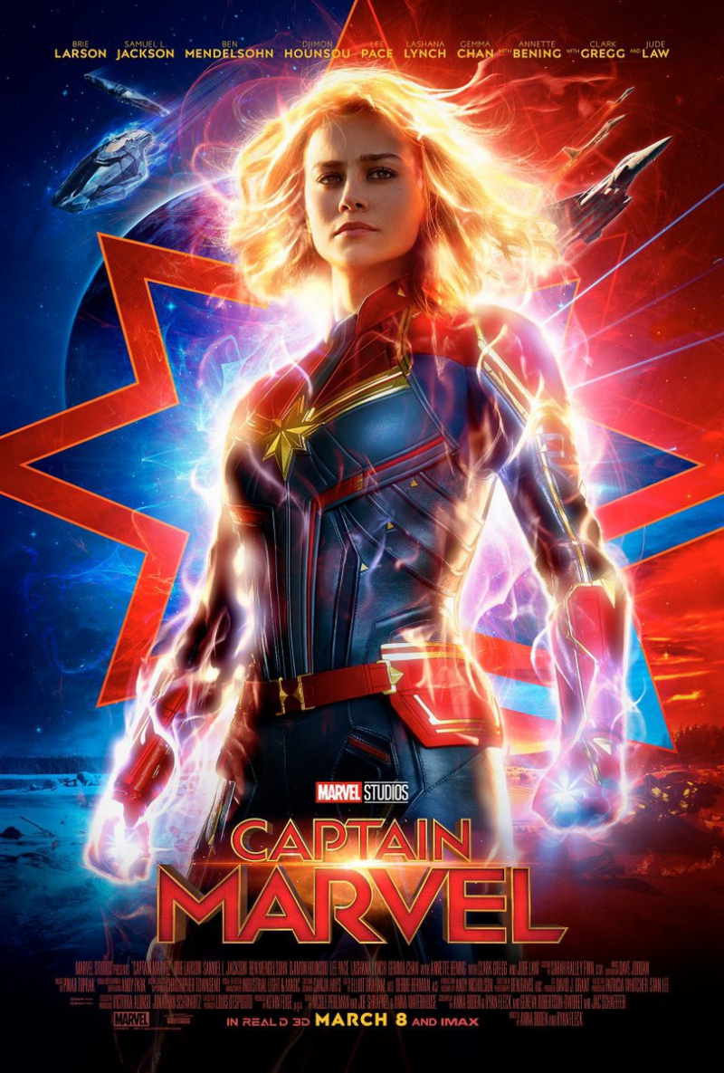 Captain Marvel (8/3)