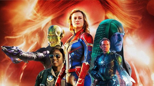 Captain Marvel - Doanh thu 1,12 tỷ USD
