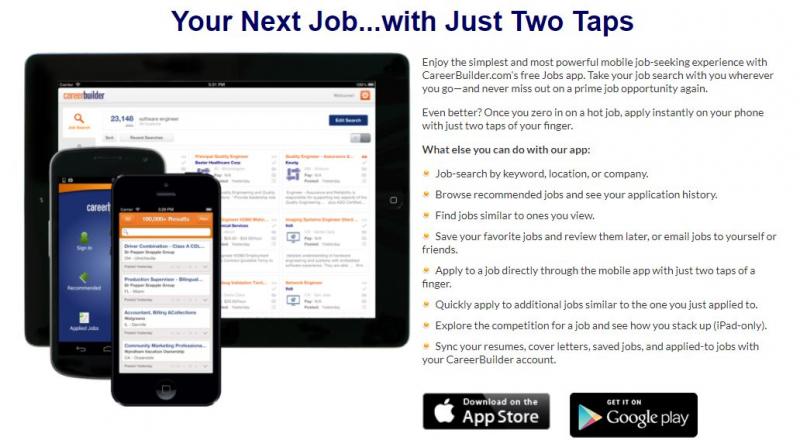 Ứng dụng CareerBuilder