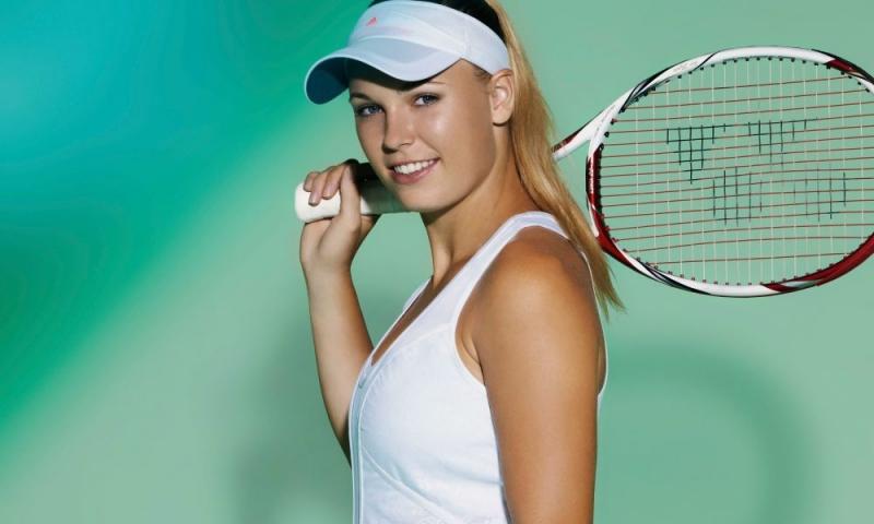 Caroline Wozniacki xinh đẹp và tài năng