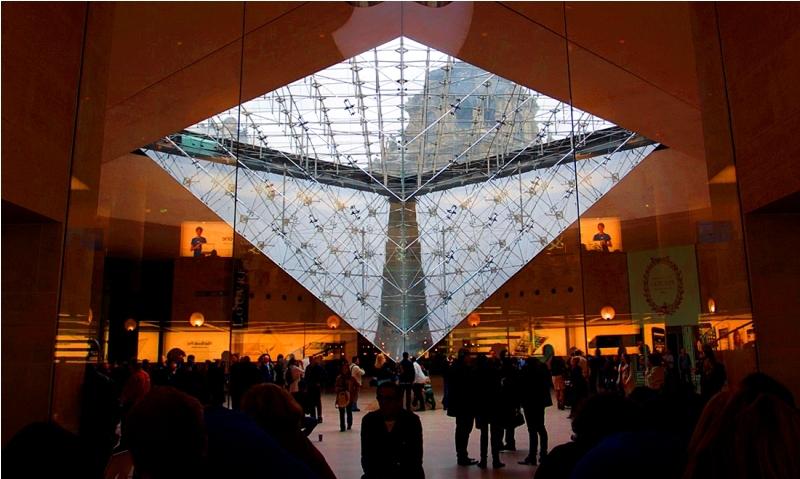 Carrousel du Louvre, Pháp