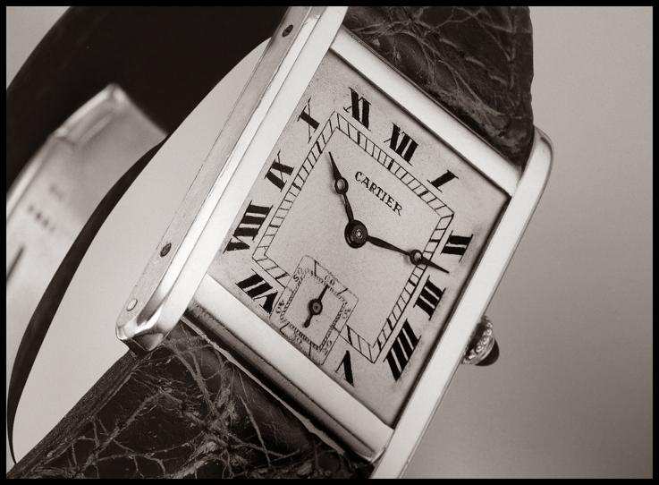 Cartier Tank đứng thứ 2 trong bảng xếp hạng những chiếc đồng hồ đã thay đổi cả thế giới