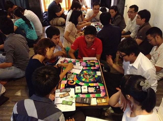 Cashflow là quán Cafe Boardgame đầu tiên tại Sài Gòn