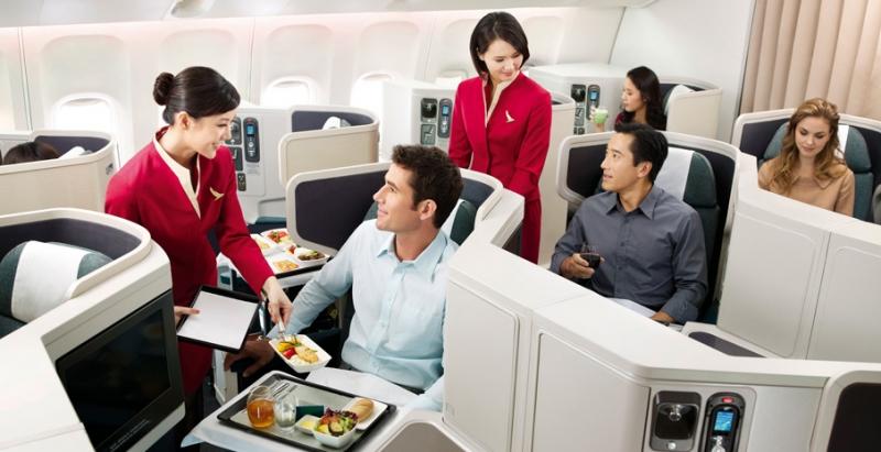 Phi cơ của hãng Cathay Pacific đa số là máy bay Boeing 777-300