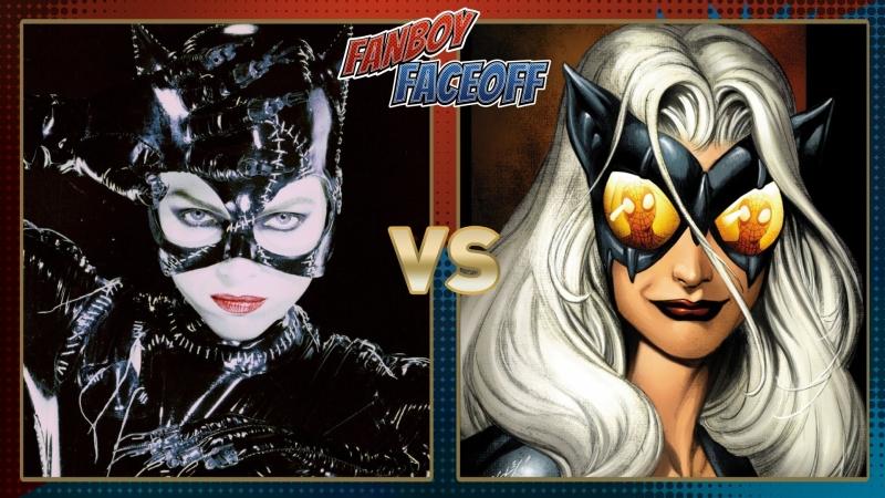 Catwoman và mèo đen
