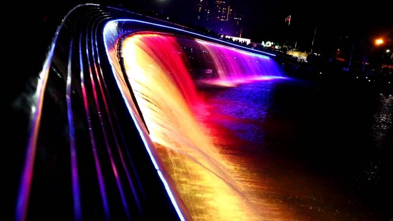 Cầu Ánh Sao về đêm