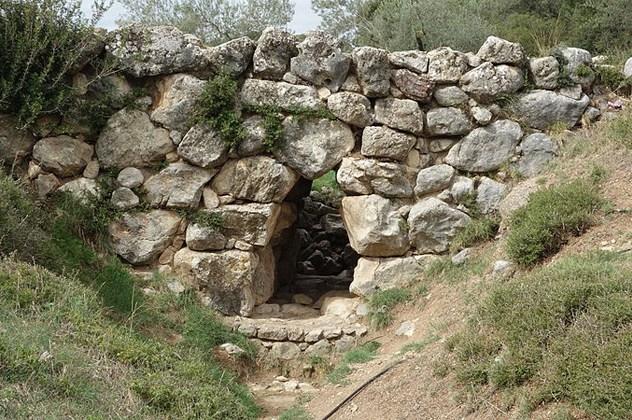 Cầu Arkadiko ở Hy Lạp