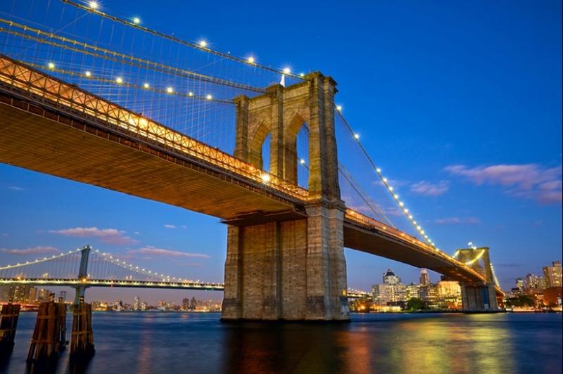 Cầu Brooklyn, Hoa Kỳ