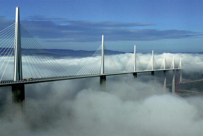 Cầu cạn Millau Viaduct, Pháp