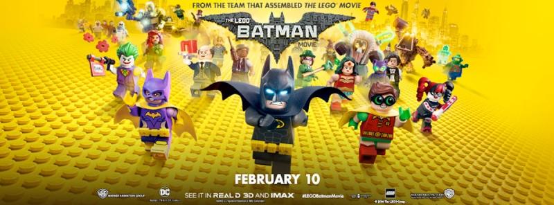 Tính đến ngày 09/05/2017, the Lego Batman movie đã thu về 310,1 triệu đô la trên toàn thế giới. Phim cũng được rất nhiều nhà phê bình phim khen ngợi.