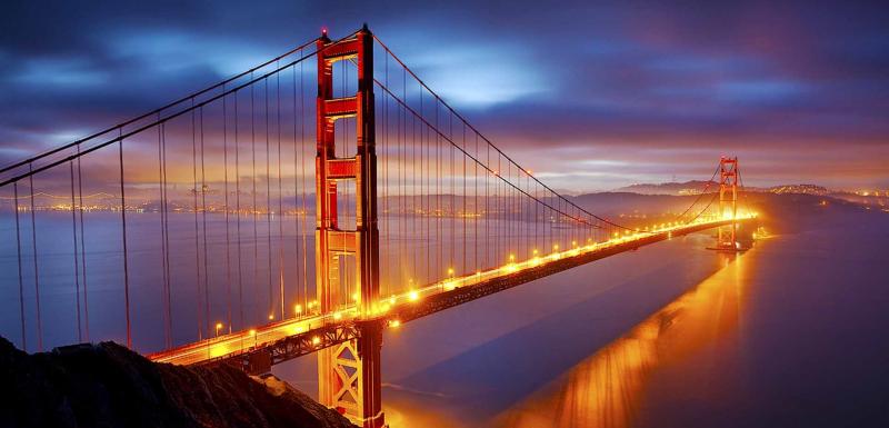 Cầu cổng vàng - California, Mỹ