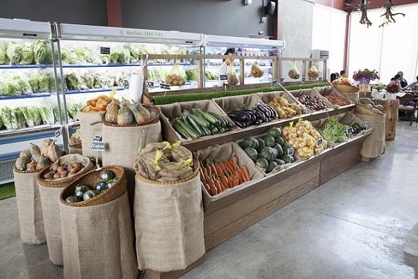Cửa hàng rau sạch Cầu Đất Farm