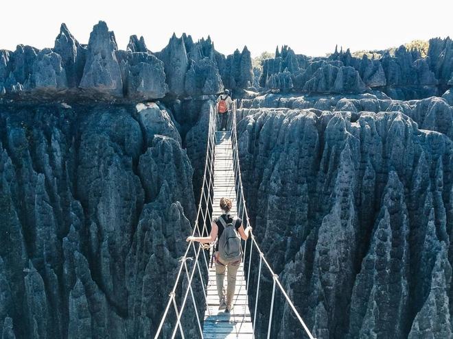 Cầu dây ở Madagascar