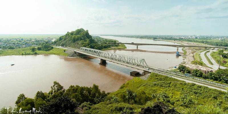Cầu Hàm Rồng là nơi ghi dấu chiến công của quân dân Thanh Hóa trong kháng chiến chống Mỹ