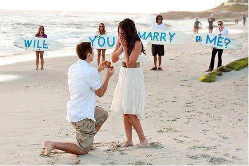 Một màn cầu hôn lãng mạn sẽ khiến đối phương không thể từ chối