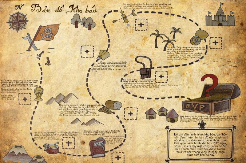Thiết kế bản đồ tình yêu cho màn cầu hôn của bạn.
