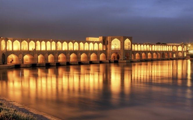 Cầu Khaju tại Iran