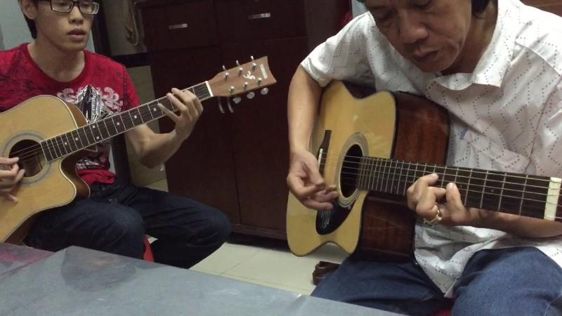 Học viên tiến bộ rõ rệt sau khi kết thúc khóa học tại CLB Guitar cổ điển Hà Nội.