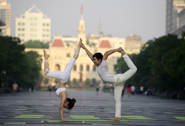 Câu lạc bộ yoga Hương Tre