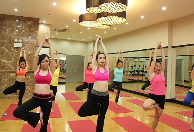 Trung tâm yoga nhà văn hoá thanh niên có cơ sở vật chất khang trang, đội ngũ huấn luyện viên giàu kinh nghiệm và rất nhiệt tình