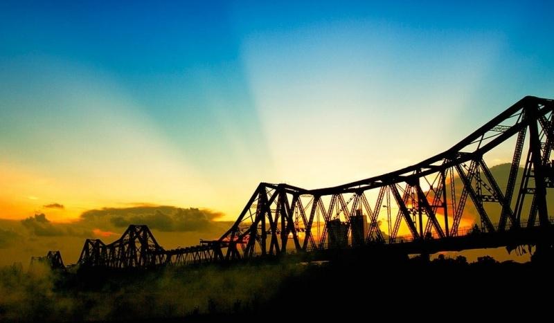 Cầu Long Biên. Ảnh sưu tầm.
