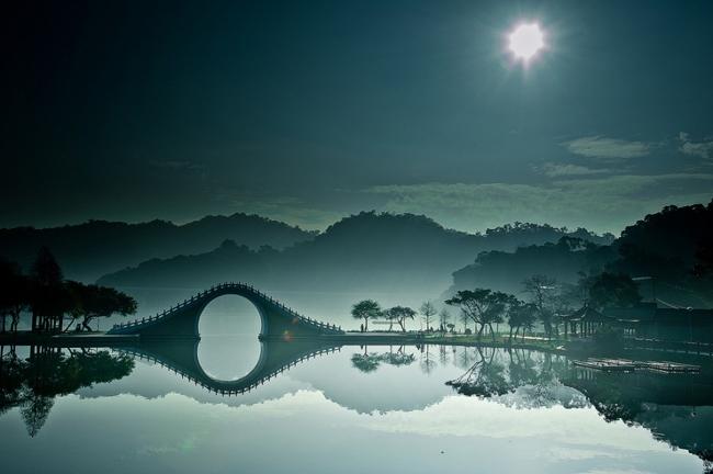Cầu Mặt trăng (cầu Nguyệt) ở Đài Loan