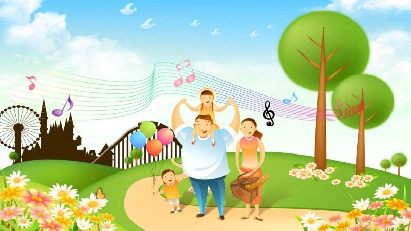 Một gia đình hạnh phúc - một thiên đường trong mơ