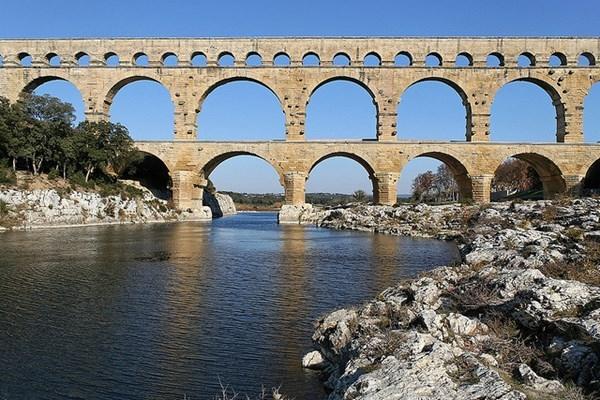 Cầu Pont du Gard, Pháp