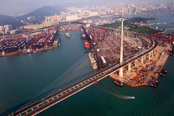 Cầu Stonecutter ở Hồng Kông