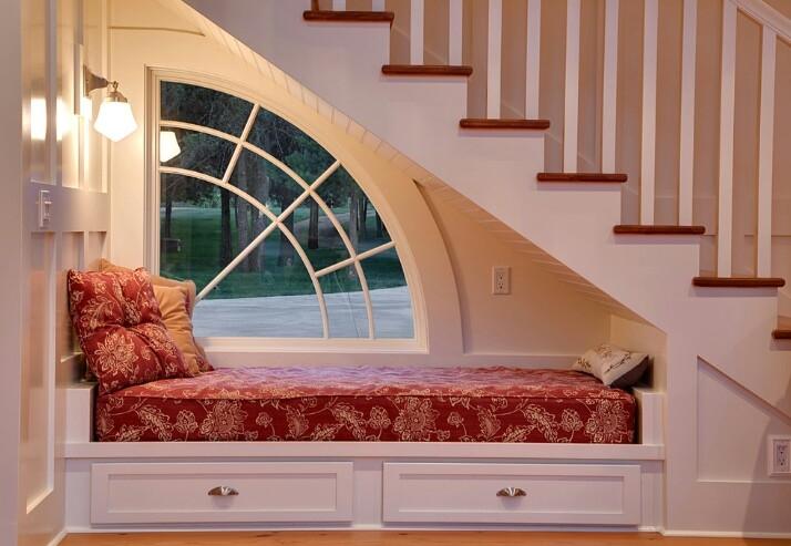 Mẫu cầu thang kết hợp giường ngủ