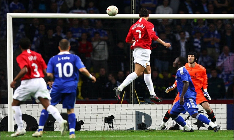 Bàn thắng trong trận chung kết C1 mùa giải 2007-2008 của Ronaldo