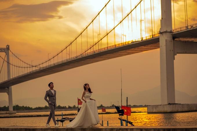 Cầu Thuận Phước - Cầu treo dây võng dài nhất Việt Nam