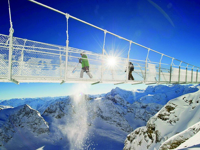 Cầu Titlis Cliff Walk,Thụy Sĩ
